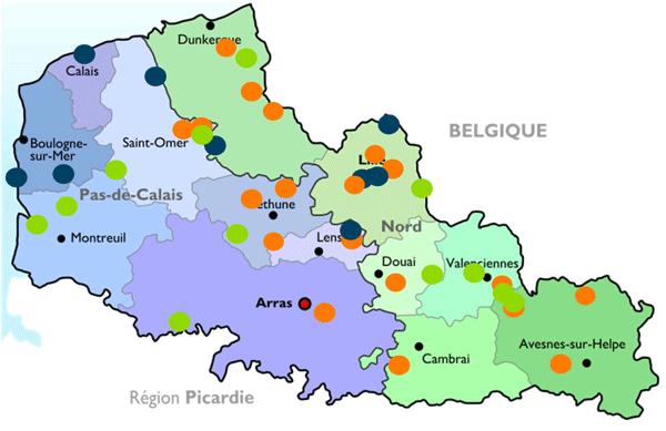 Installations de production de biogaz en nord pas de calais methania - Appel d offre pas de calais habitat ...